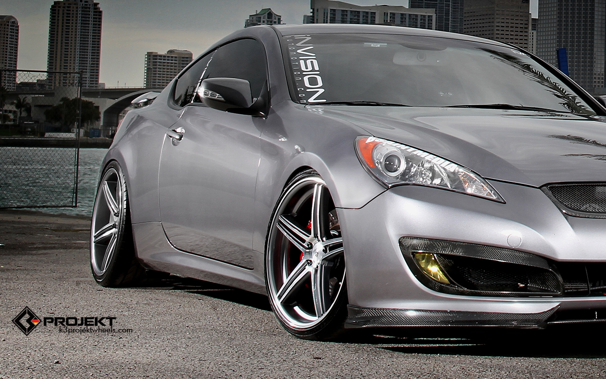 2010 Hyundai Genesis Coupe By Invision Automotion And K3