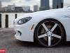 2012 BMW 6 Series Gran Coupe on 22 Inch Vossen Wheels