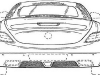 2012 Mercedes SLS AMG Roadster Patent Drawings Revealed