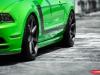 2013 Ford Mustang 302 Boss on Vossen CV-7 Wheels