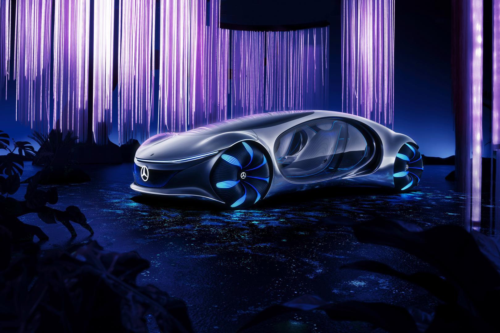 Mercedes-Benz VISION AVTR CES