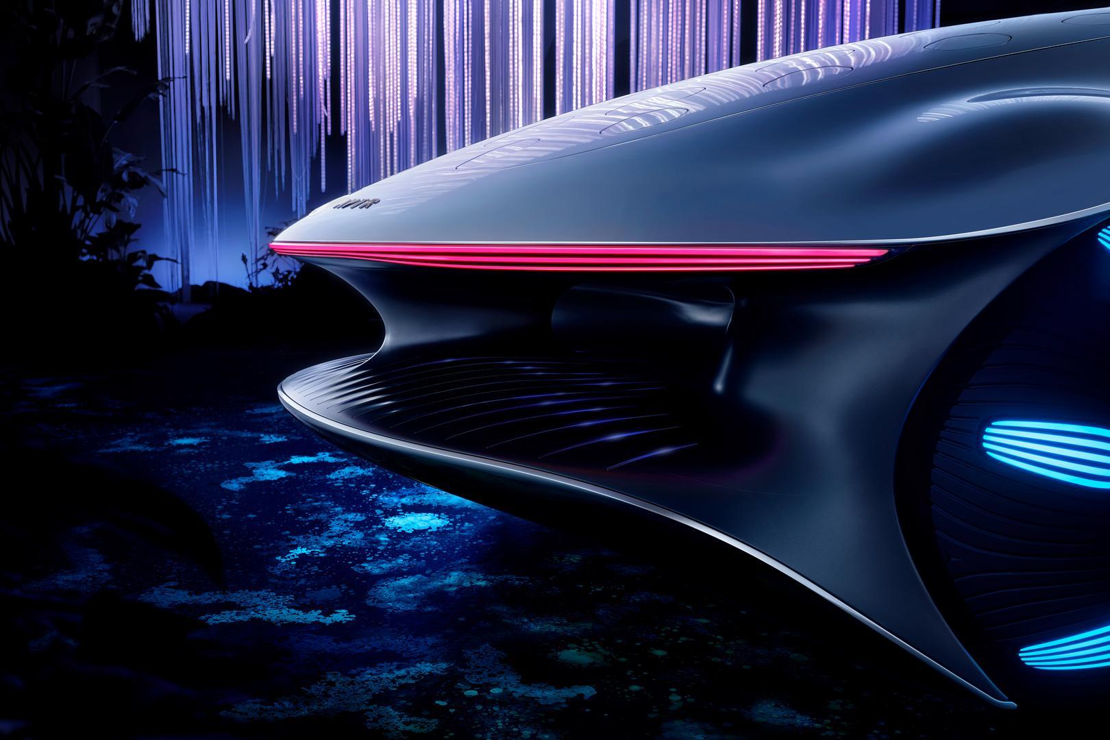 Mercedes-Benz VISION AVTR Rear Lights