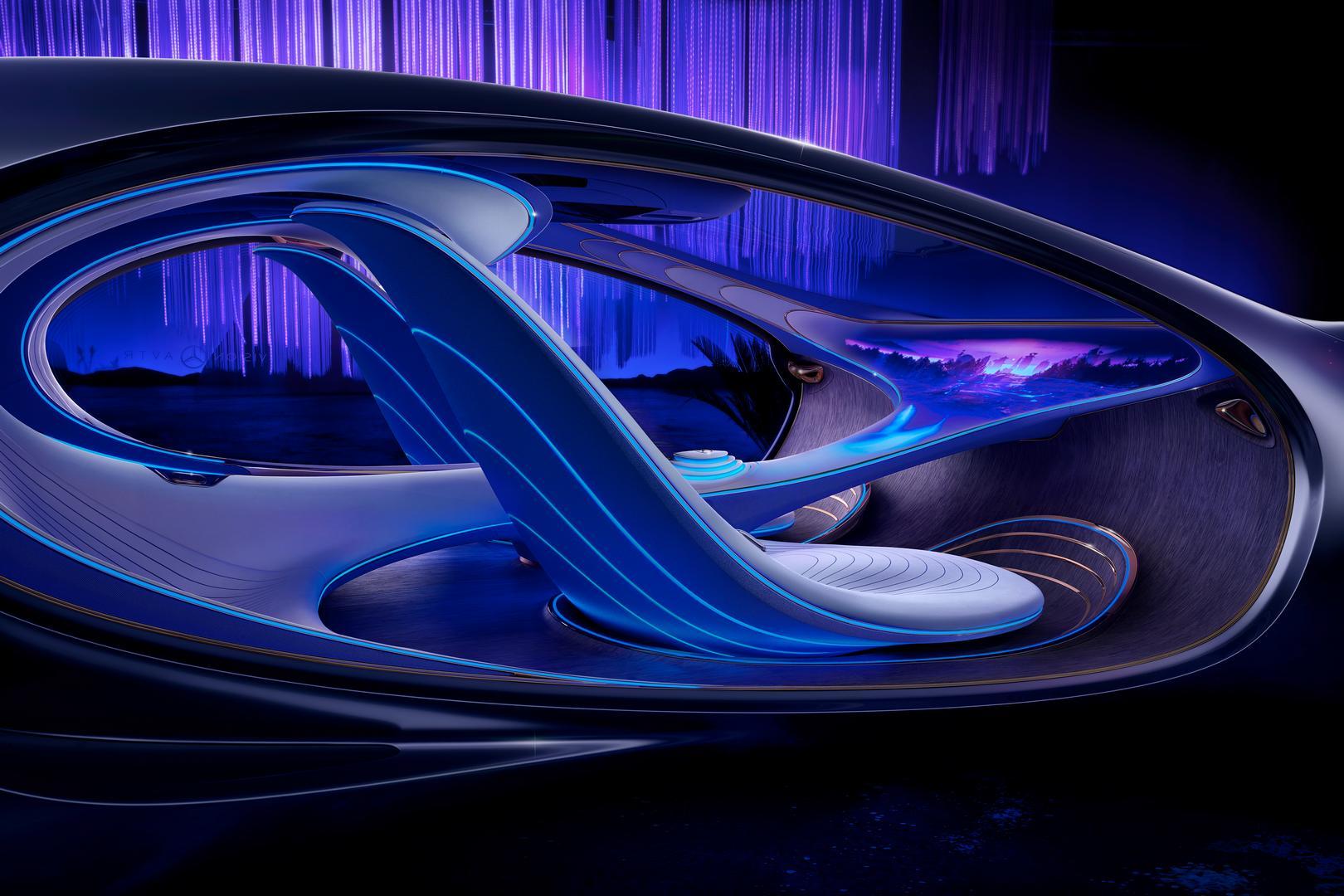 Mercedes-Benz VISION AVTR Interior