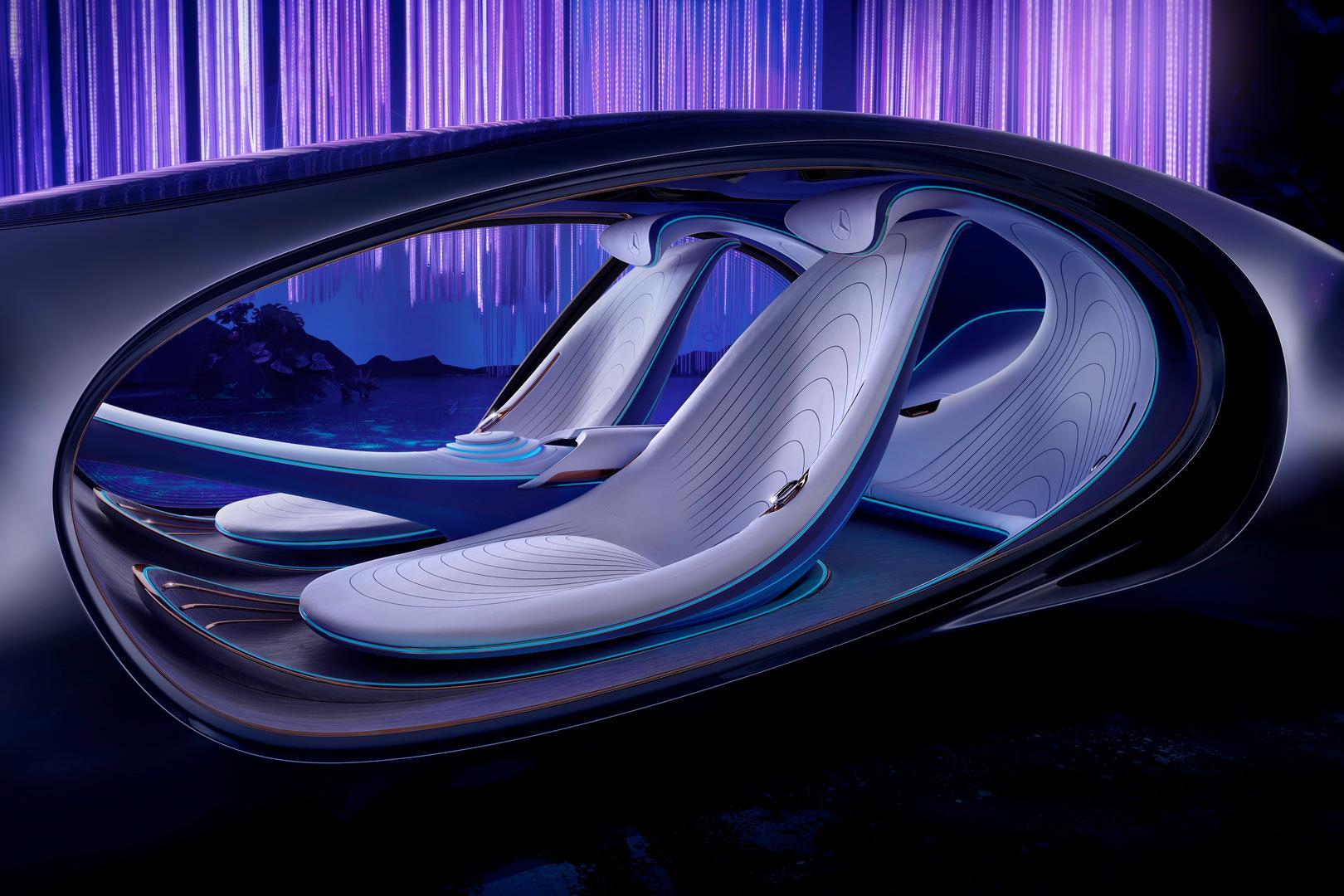 Mercedes-Benz VISION AVTR Seats