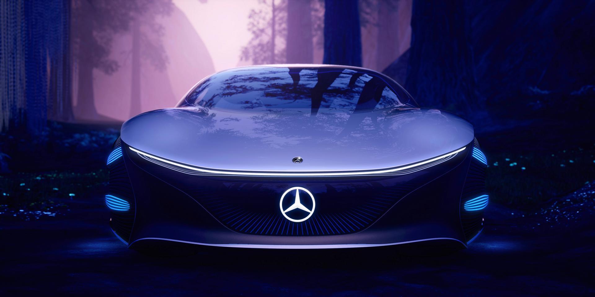 Mercedes-Benz VISION AVTR Front