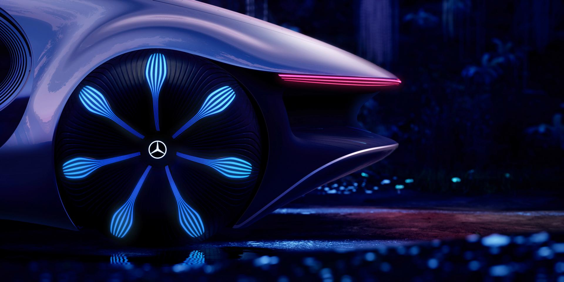 Mercedes-Benz VISION AVTR Wheels