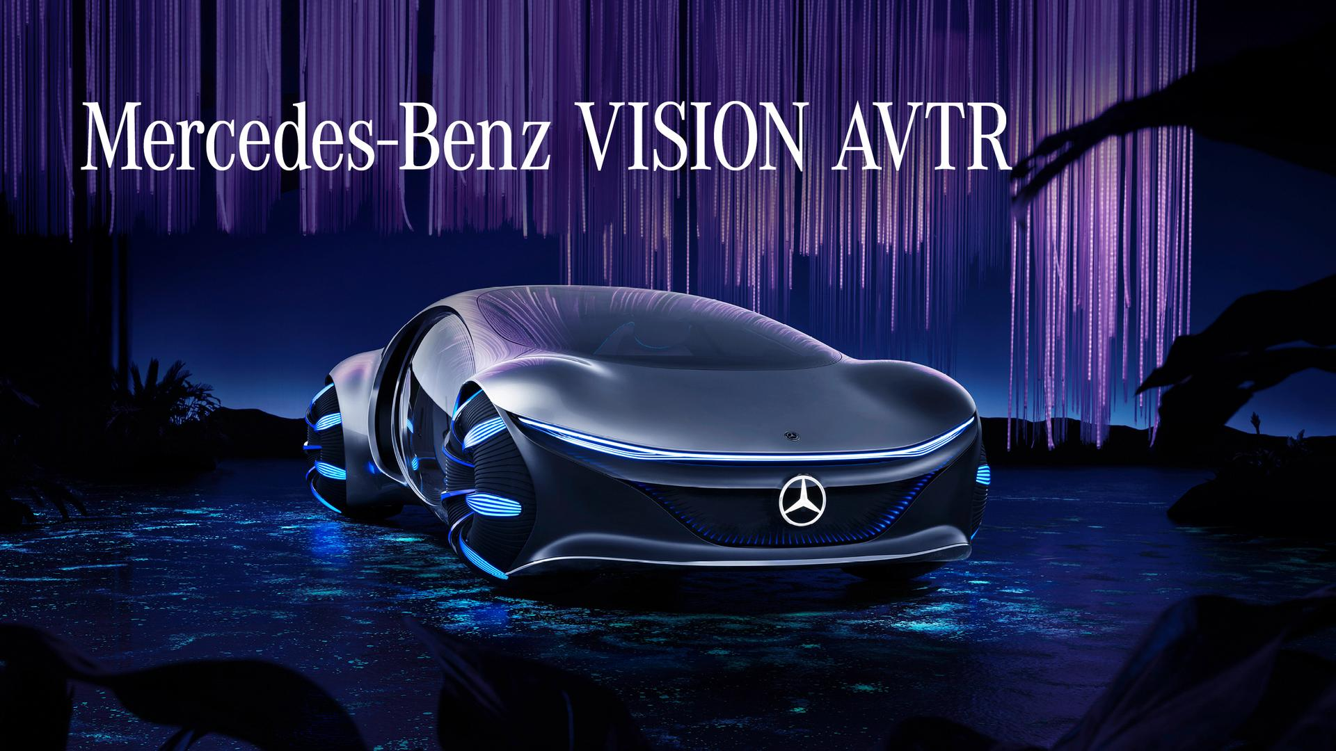 Official: Mercedes-Benz Vision AVTR Concept Car unveiled at CES 2020