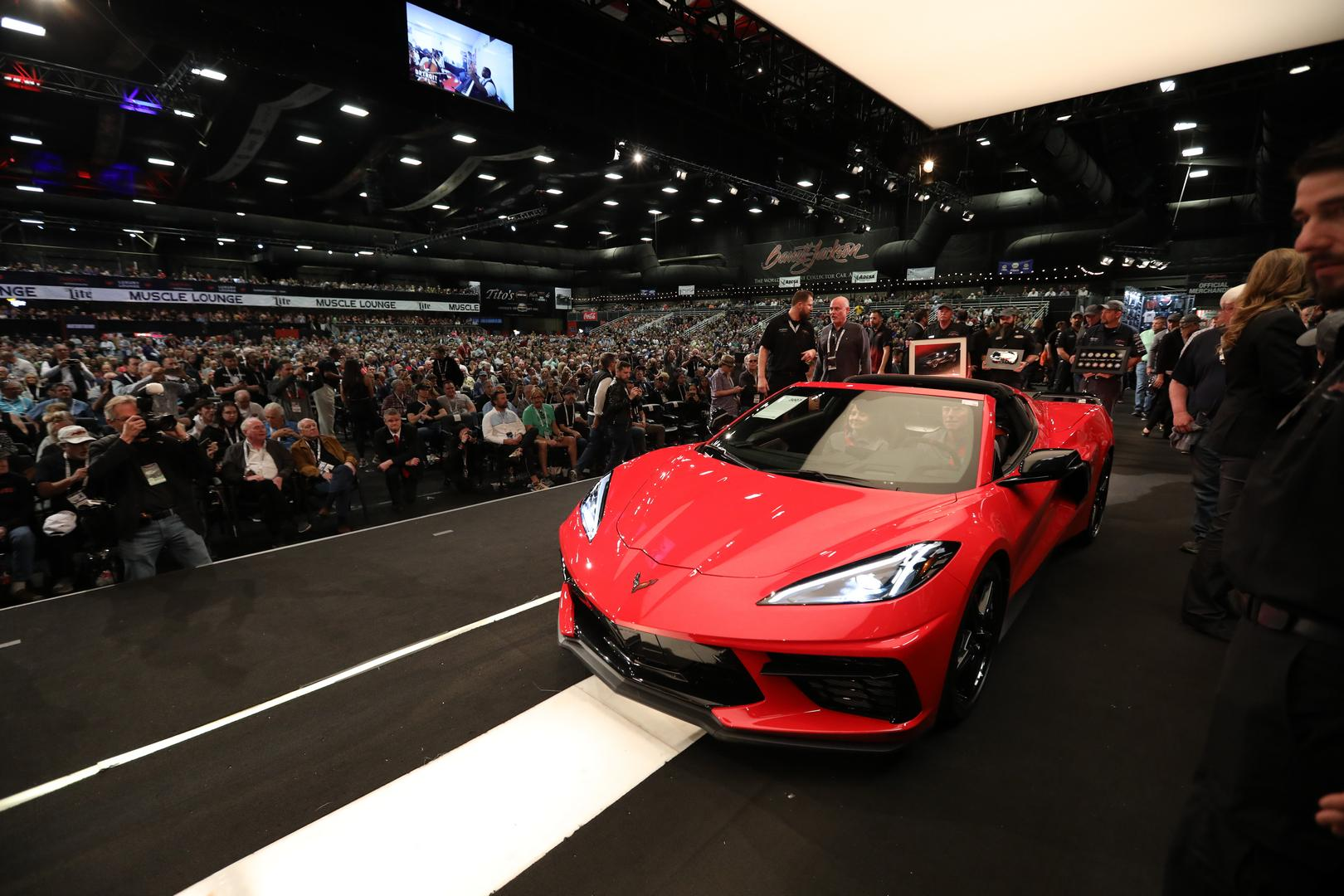 2020 Corvette C8 Stingray Auctions for Record $3,000,000 in the US