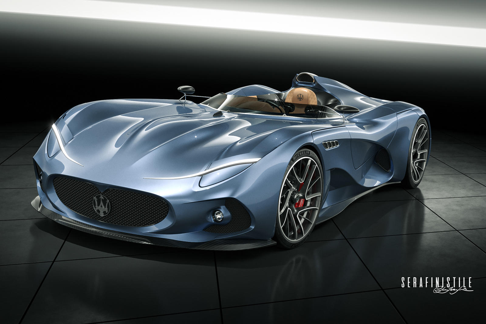 Maserati Should Make the Maserati MilleMiglia Concept