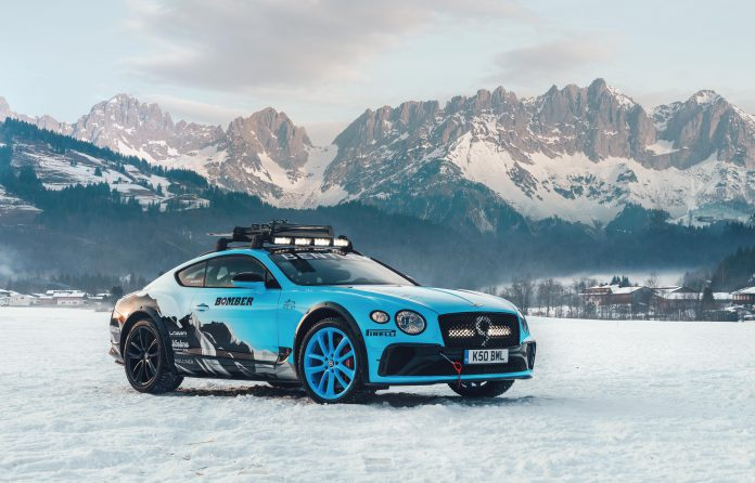 Bentley Continental GT Ice