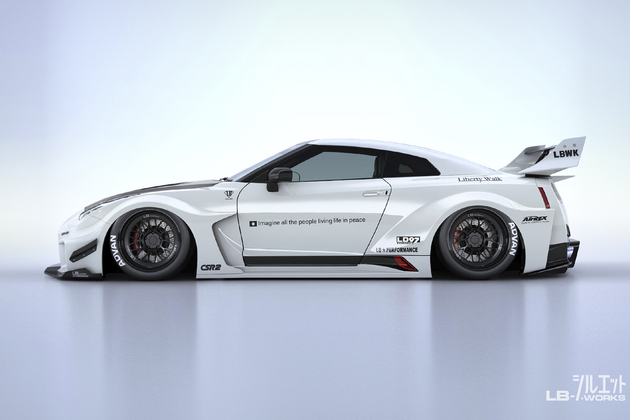 Liberty Walk Silhouette Works GT 35GT-RR