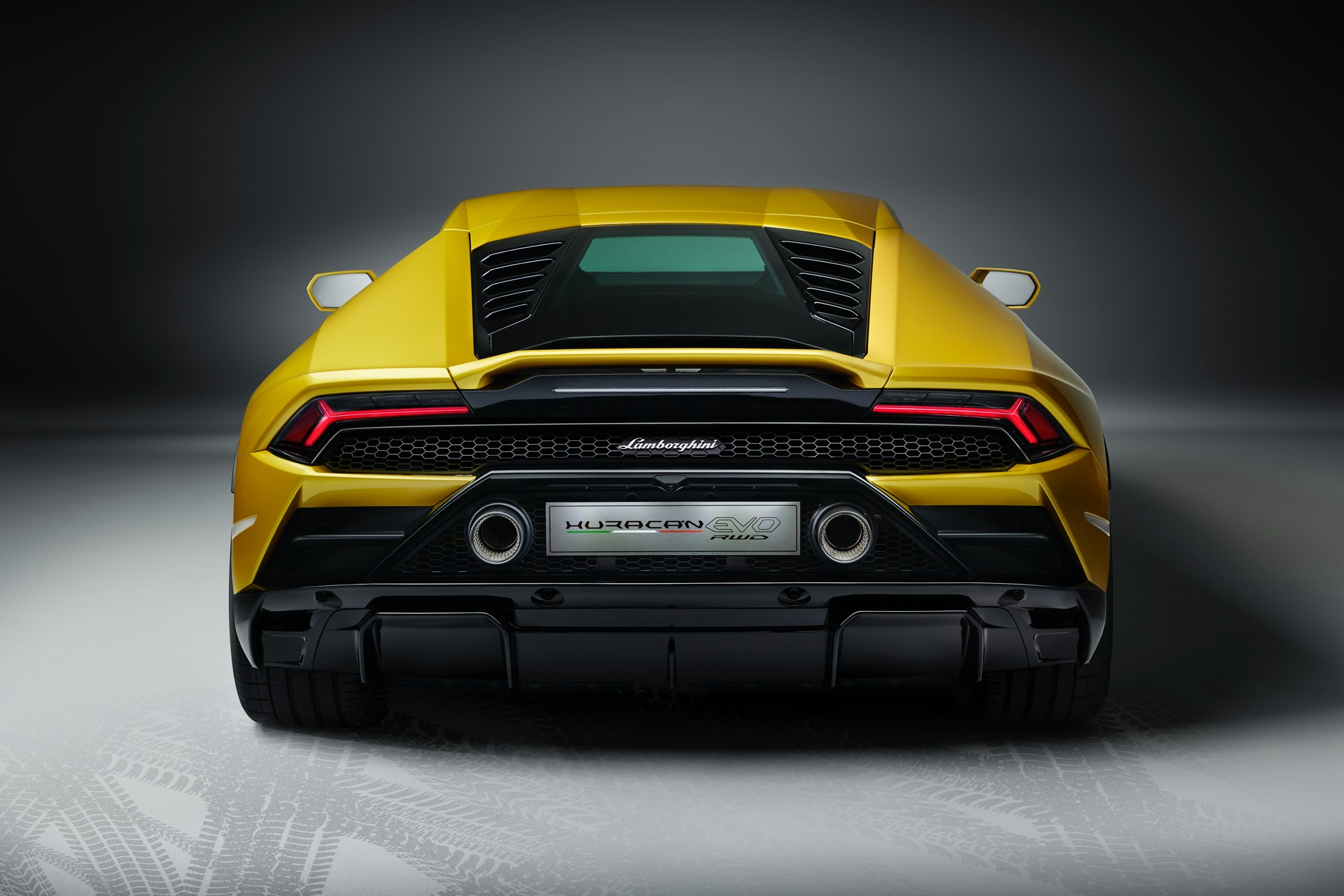 Lamborghini Huracan EVO Rear Wheel Drive Back
