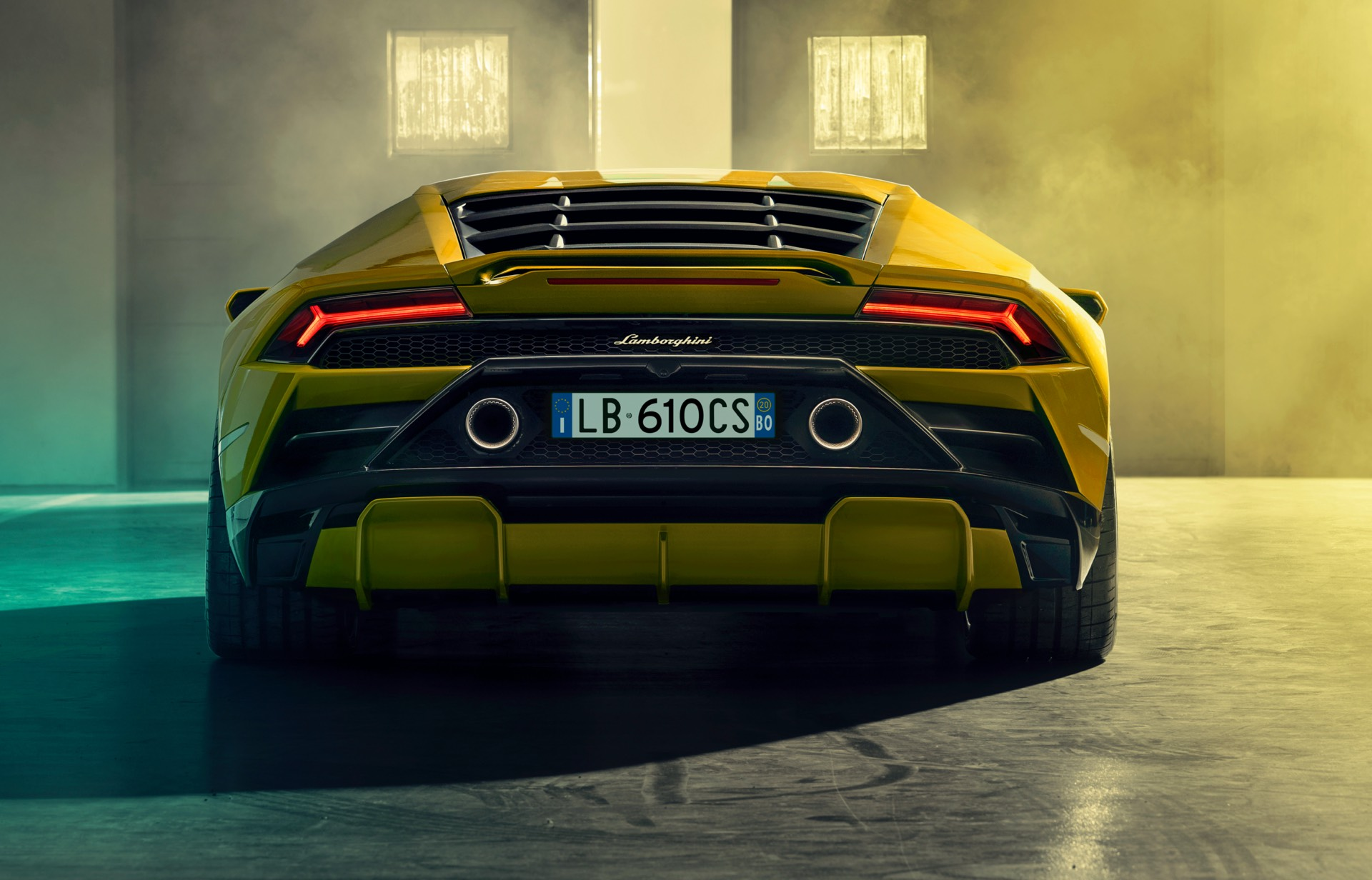 Lamborghini Huracan EVO Rear Wheel Drive Diffuser
