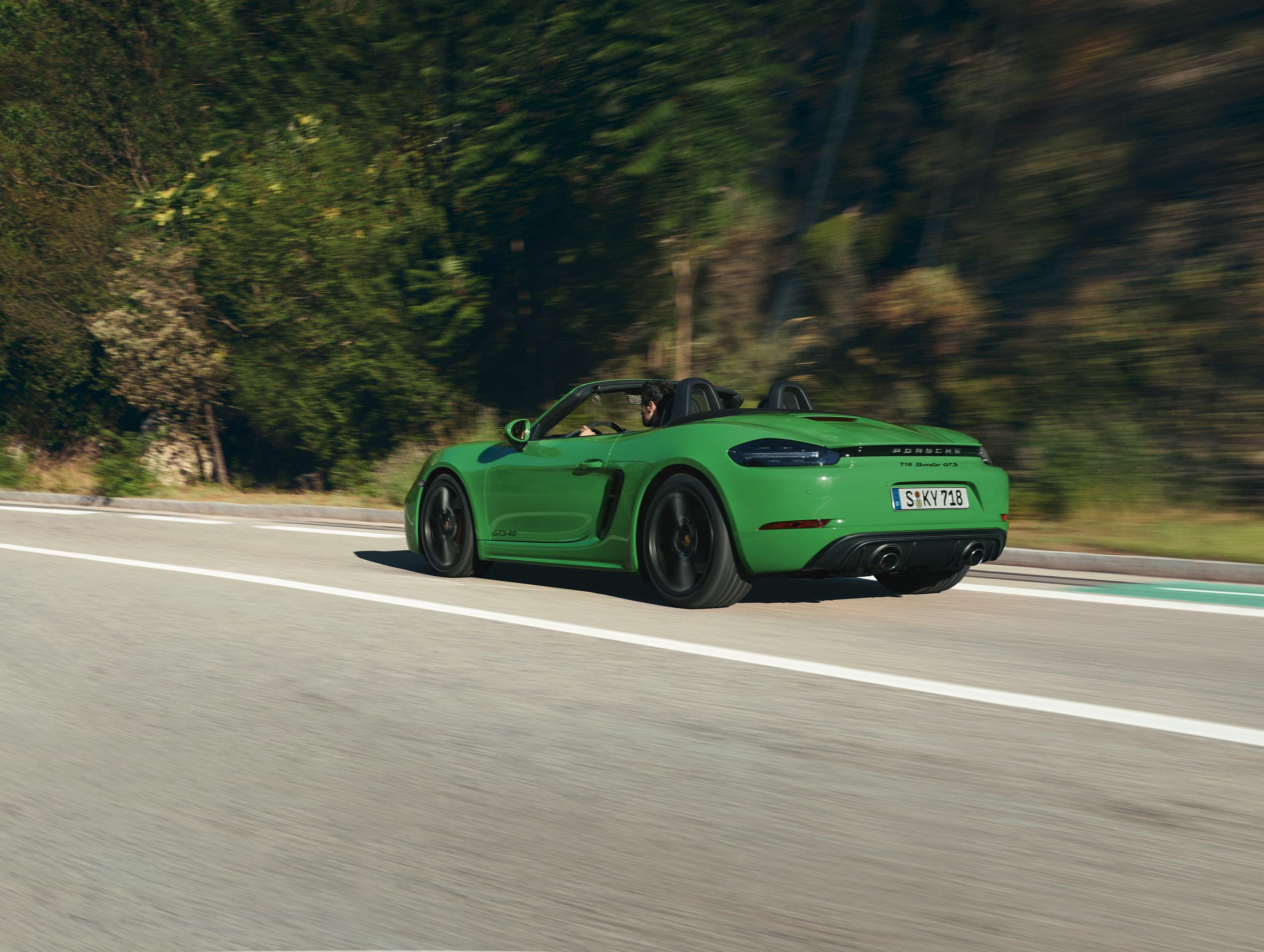 Porsche 718 Boxster GTS Rear