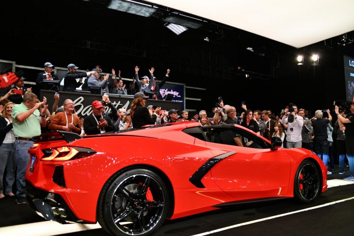 2020 Corvette Stingray VIN 0001