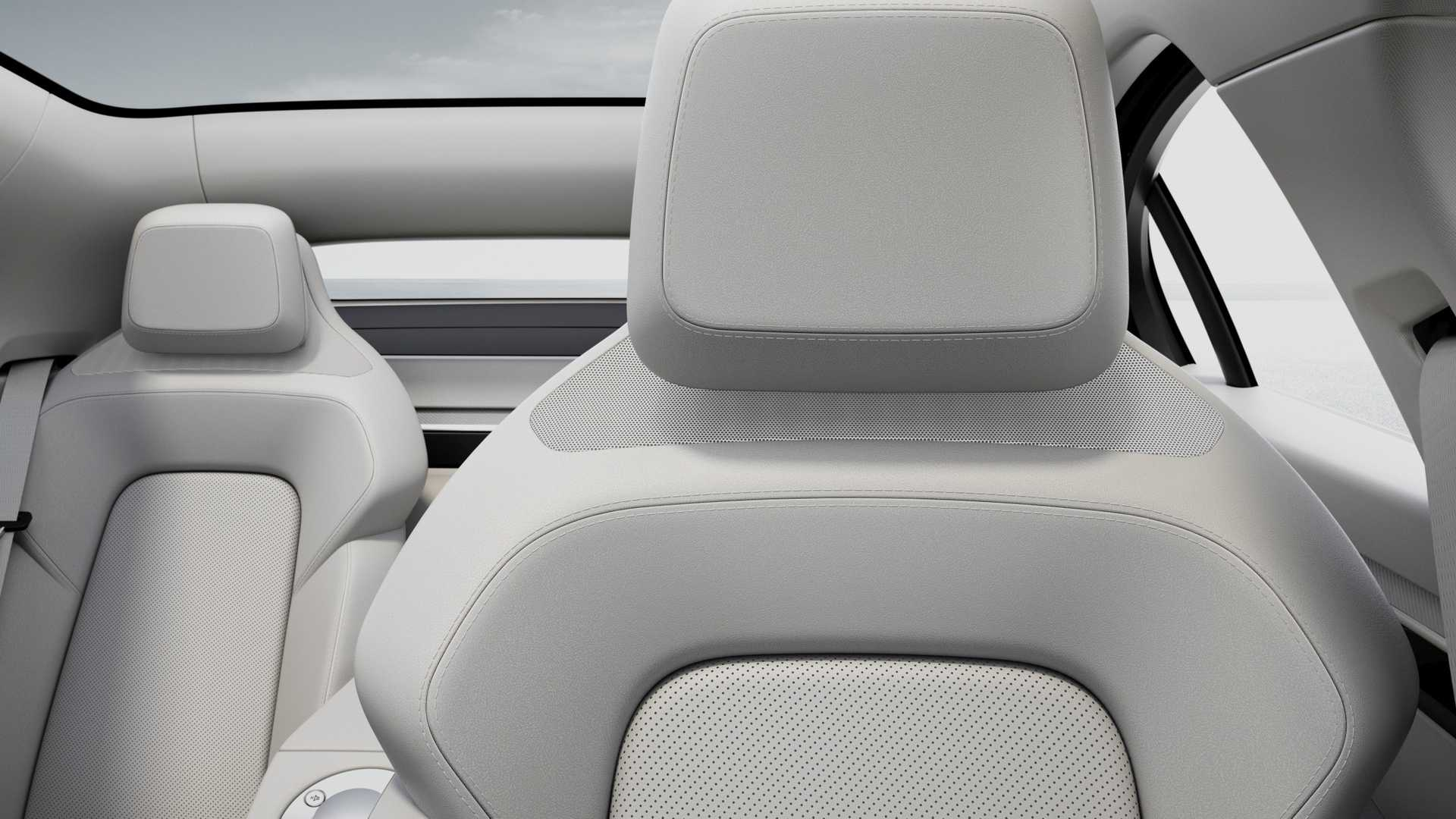 Sony Vision-S Seats