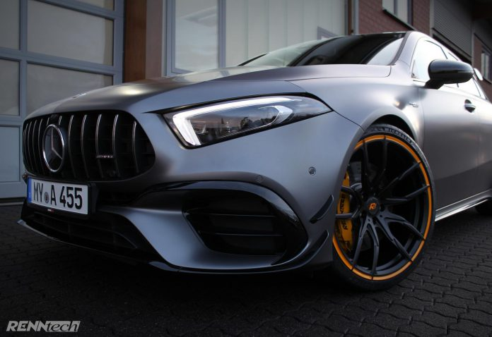 Tuned Mercedes-AMG A45