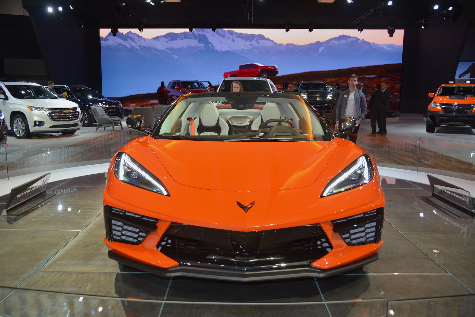 2020 Corvette C8 Convertible Front