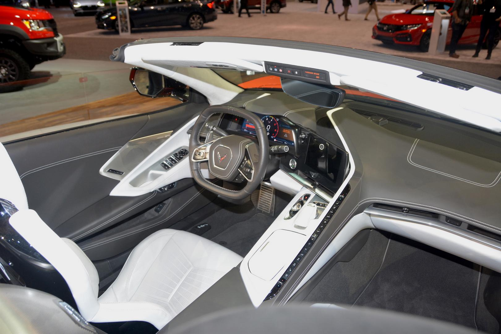 2020 Corvette C8 Convertible Interior