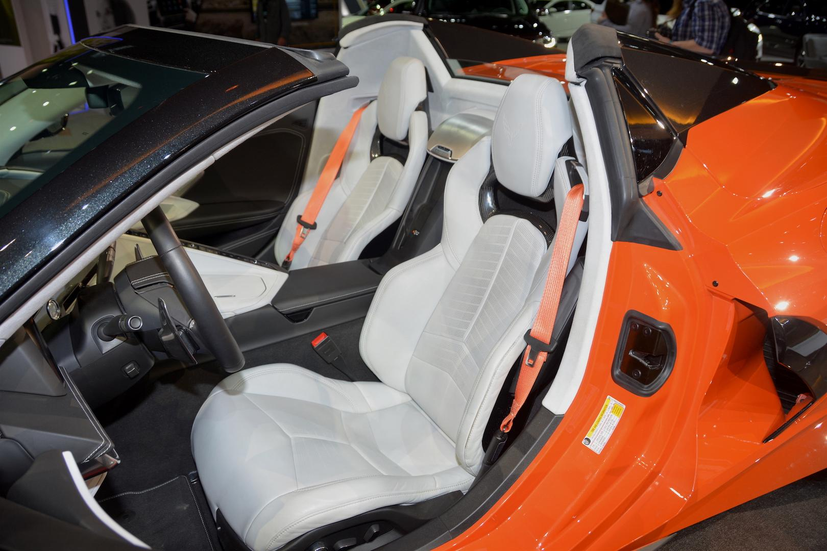 2020 Corvette C8 Convertible Seats
