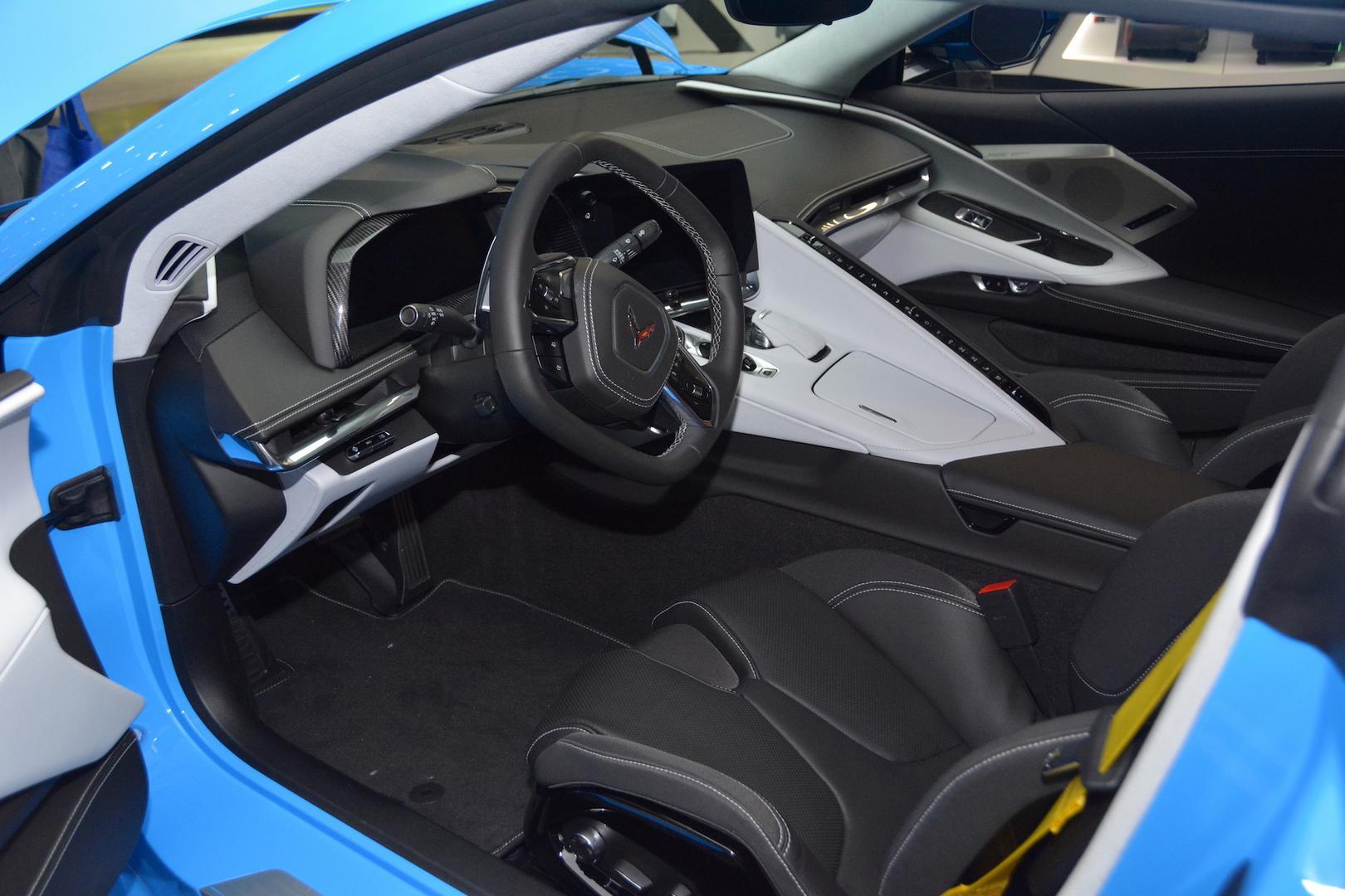 2020 Corvette C8 Interior