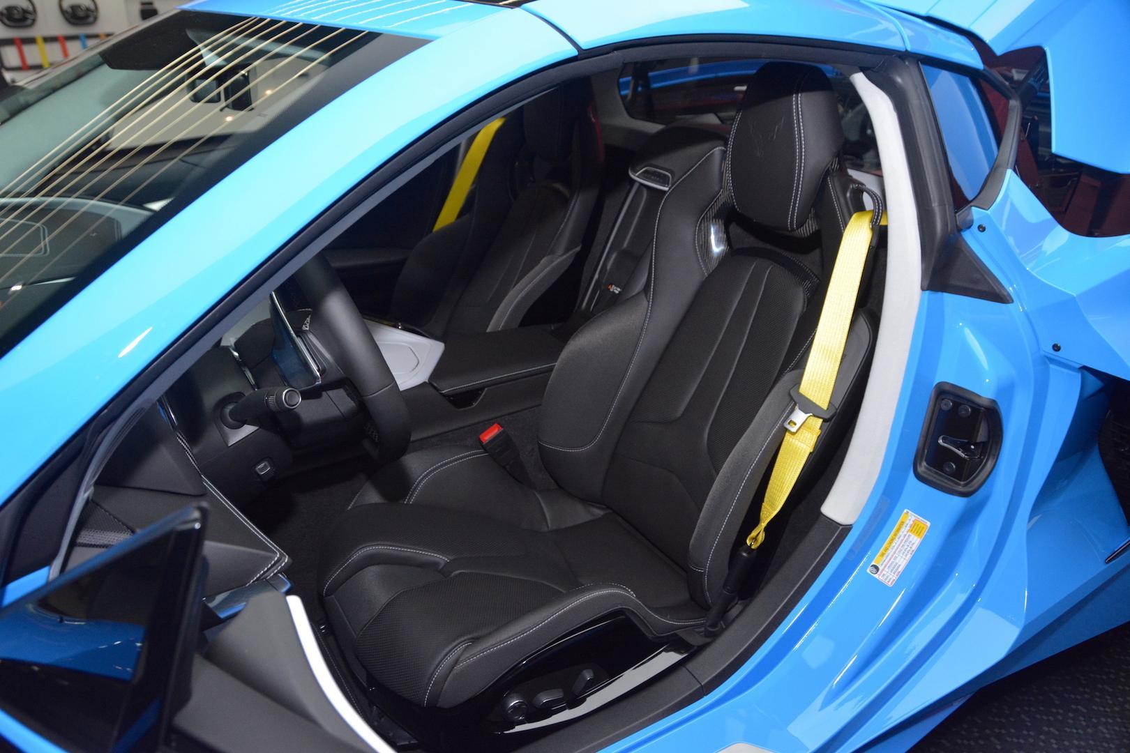 2020 Corvette C8 Seats
