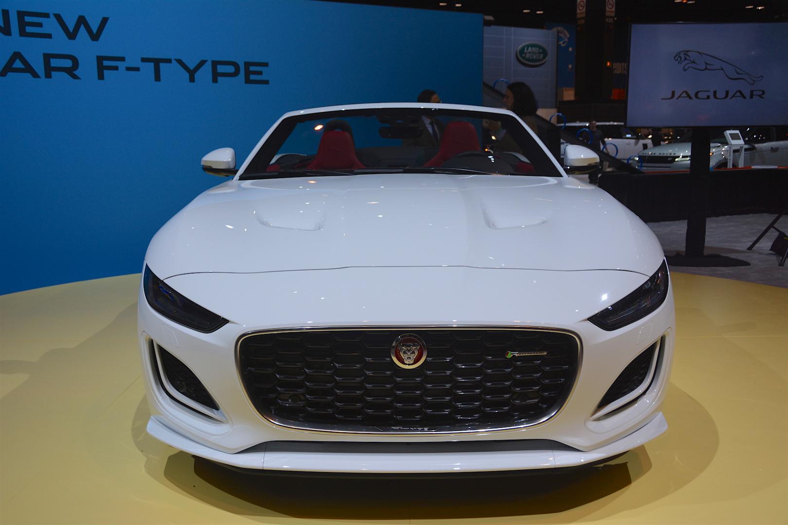 2020 Jaguar F-Type Convertible Front