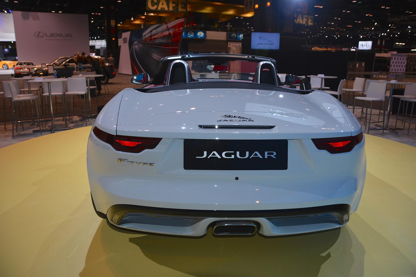 2020 Jaguar F-Type Convertible Rear