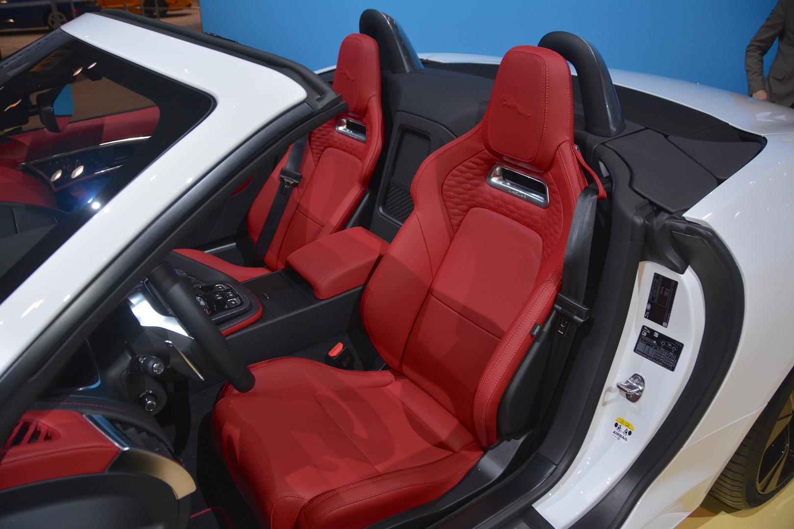2020 Jaguar F-Type Convertible Seats