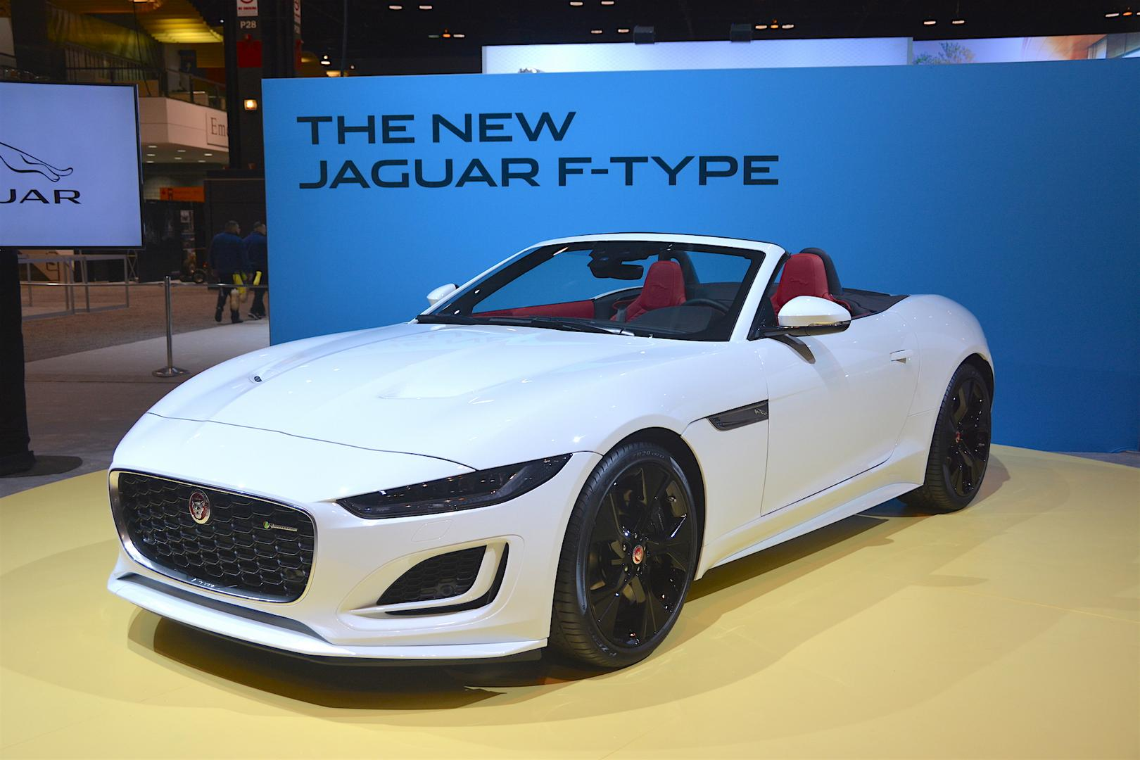 2020 jaguar f-type convertible live from chicago auto show