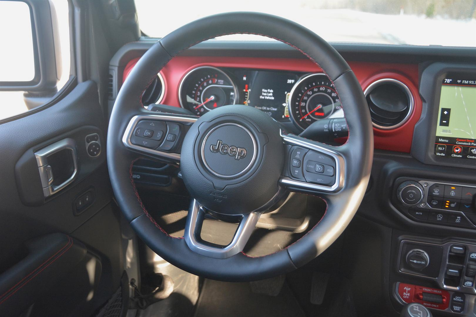 2020 Jeep Gladiator Rubicon Steering Wheel