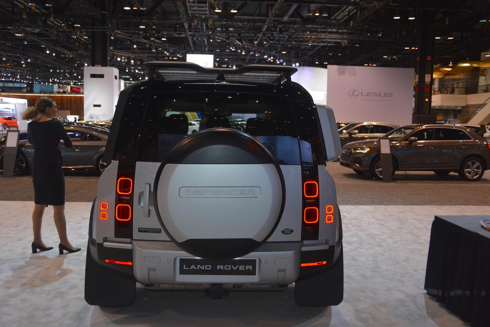 2020 Land Rover Defender Rear