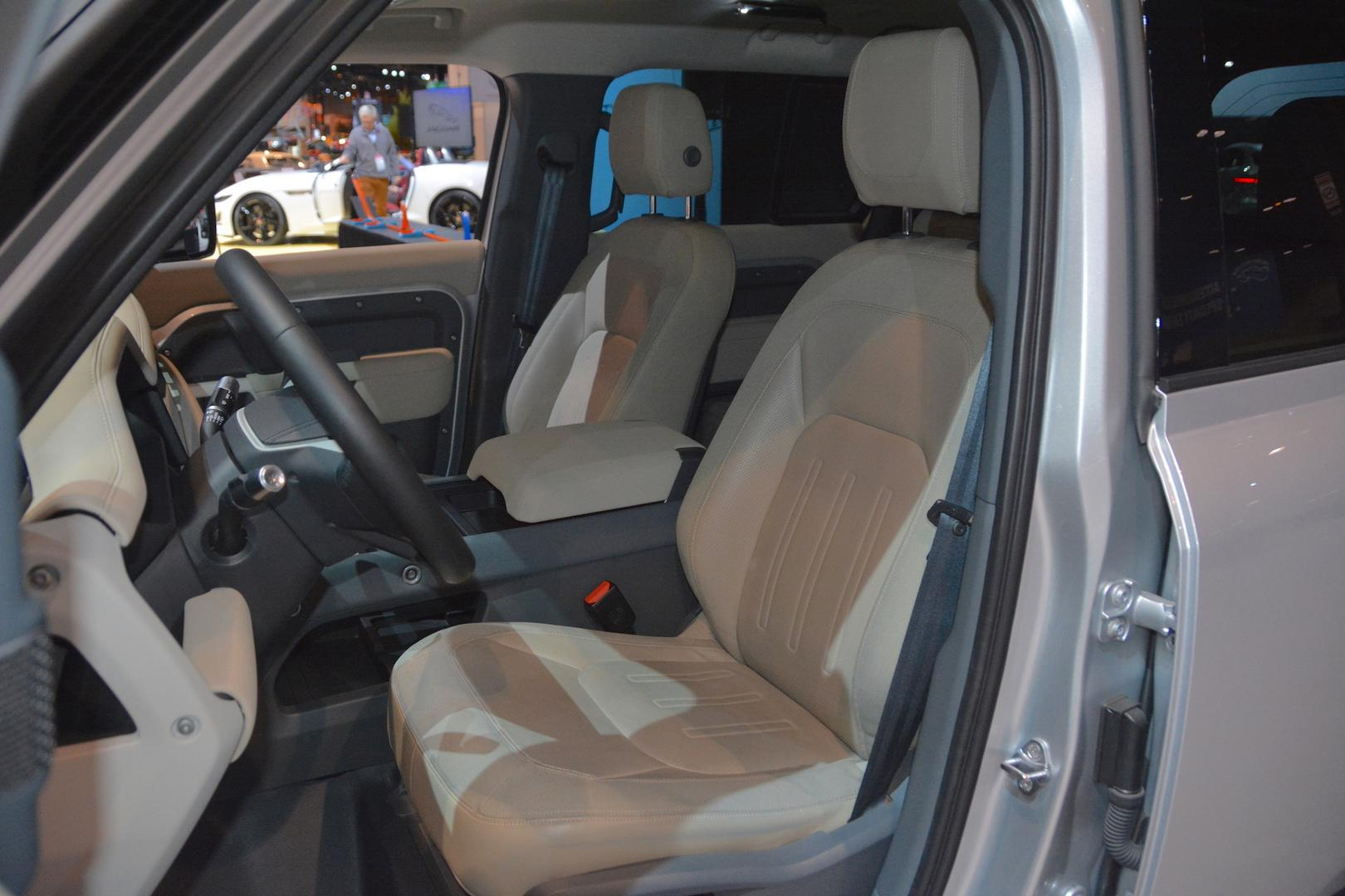 2020 Land Rover Defender Seats