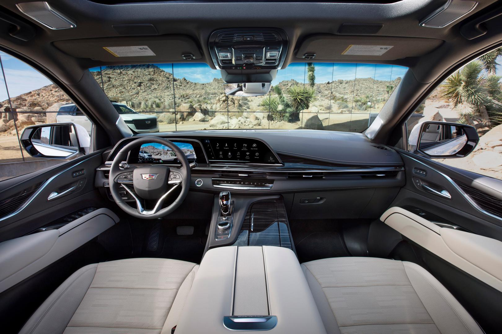 2021 Cadillac Escalade Cabin