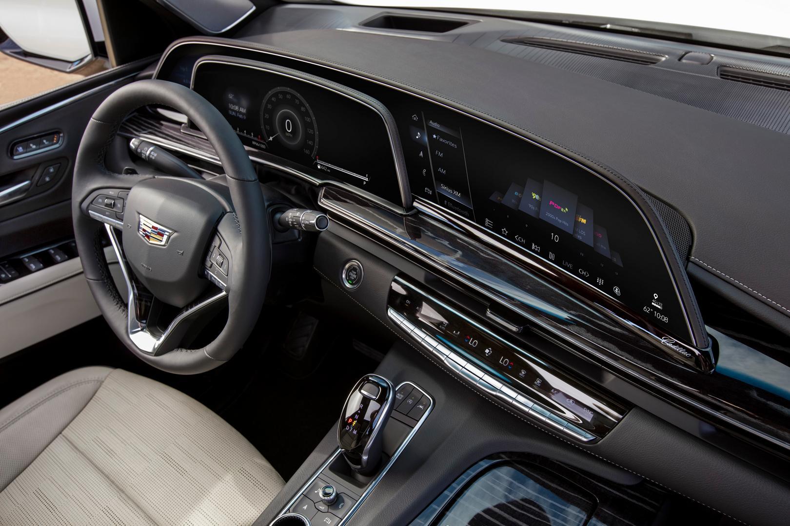 2021 Cadillac Escalade Screen