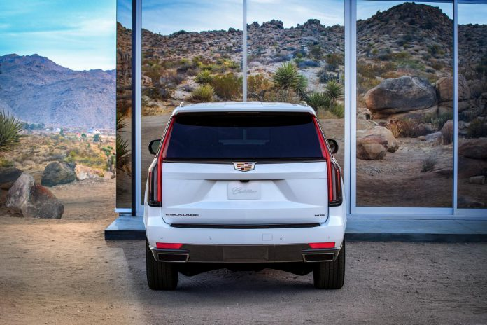 2021 Cadillac Escalade Rear