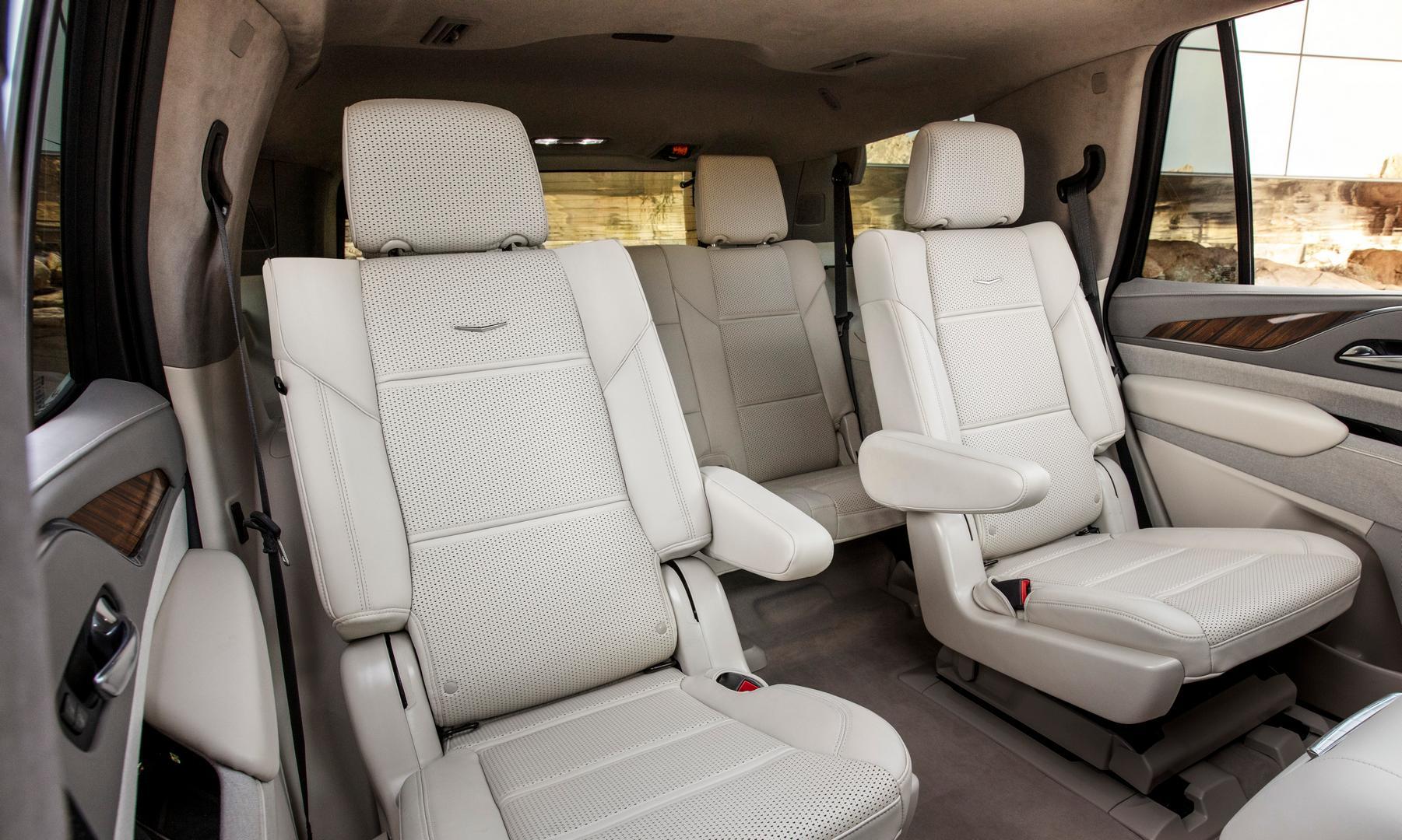 2021 Cadillac Escalade Seats