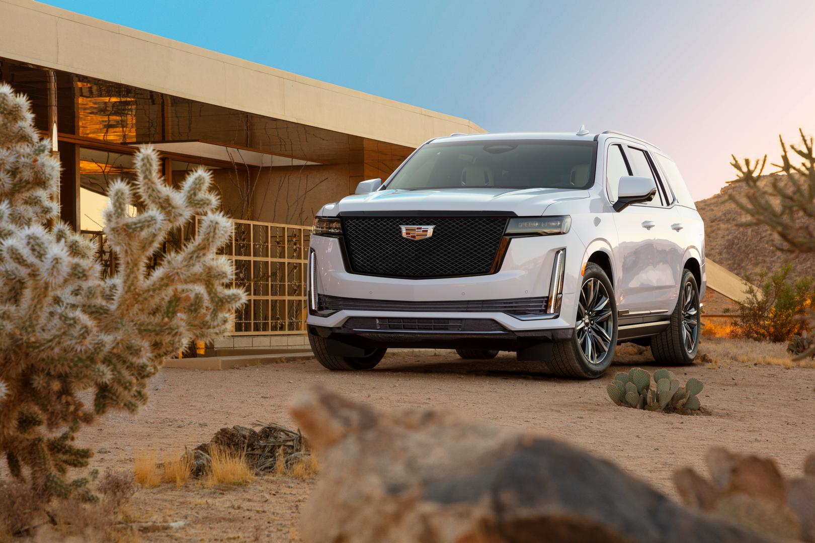 2021 Cadillac Escalade White