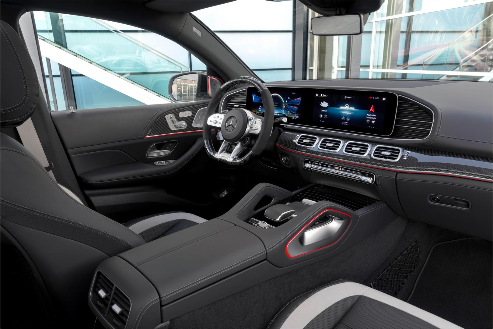 2021 Mercedes-AMG GLE 63 S Coupe Interior