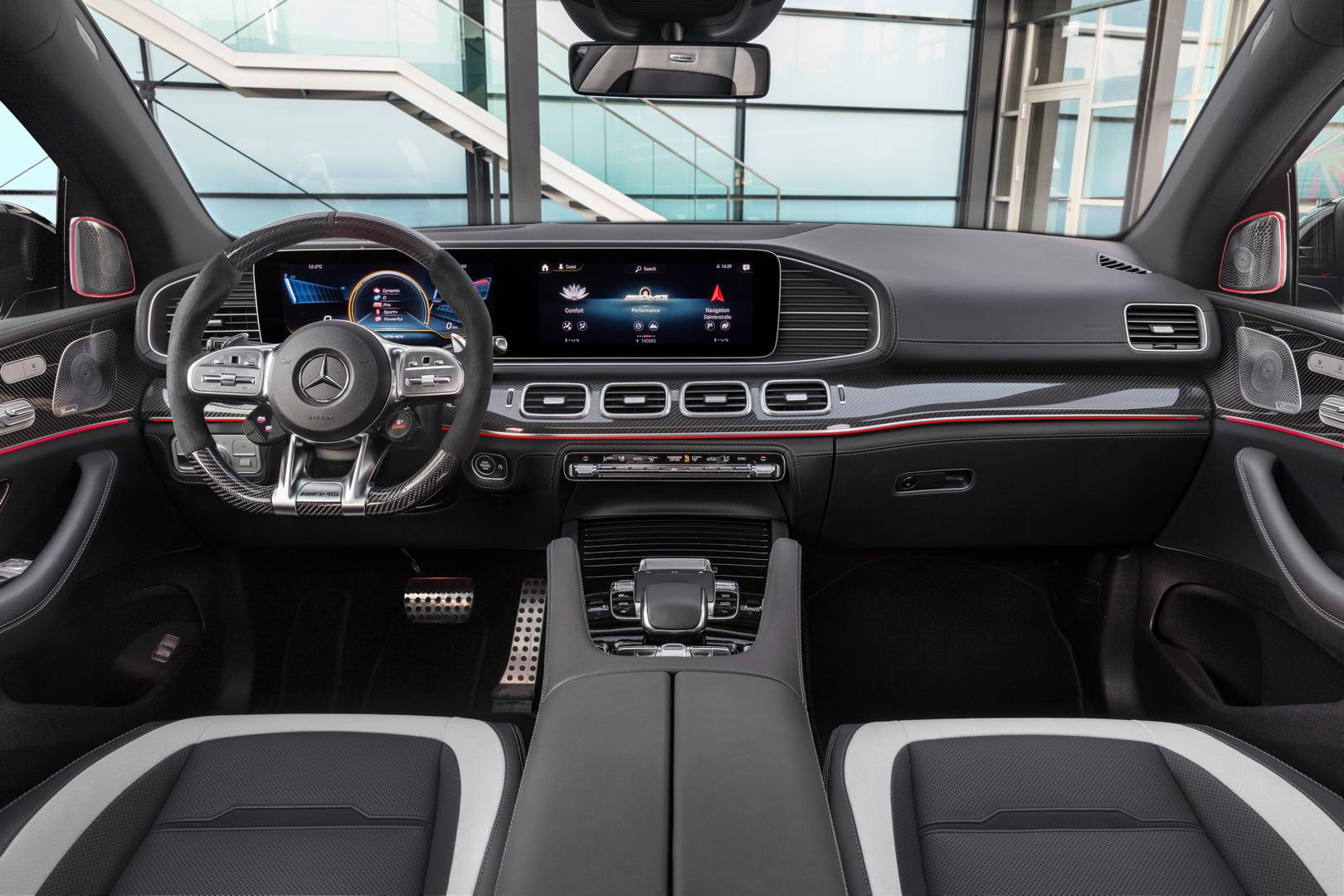 2021 Mercedes-AMG GLE 63 S Coupe Cockpit