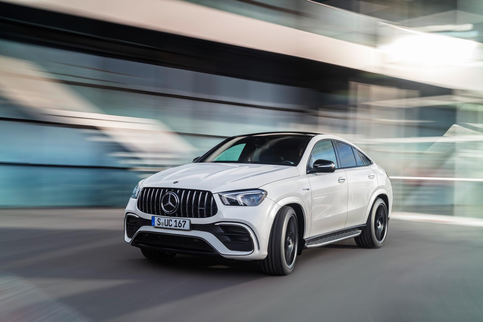2021 Mercedes-AMG GLE 63 S Coupe White