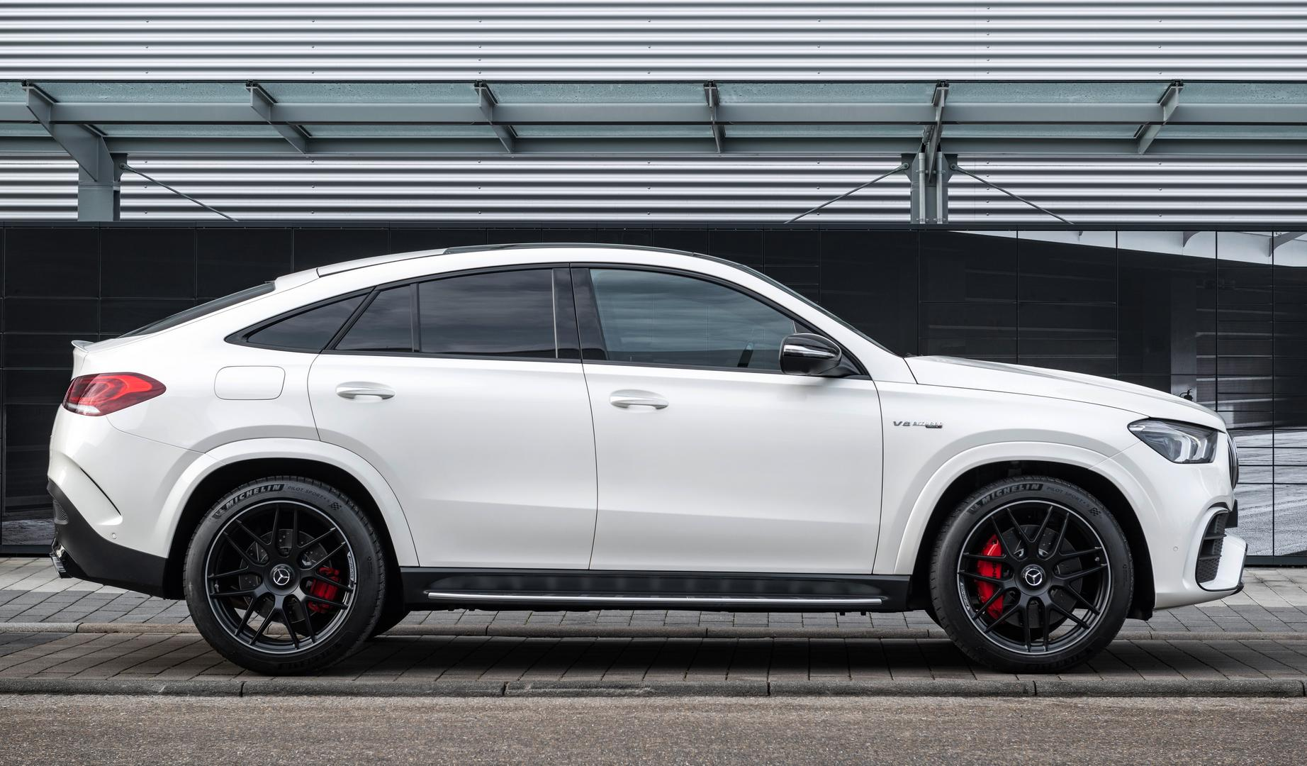 2021 Mercedes-AMG GLE 63 S Coupe Side