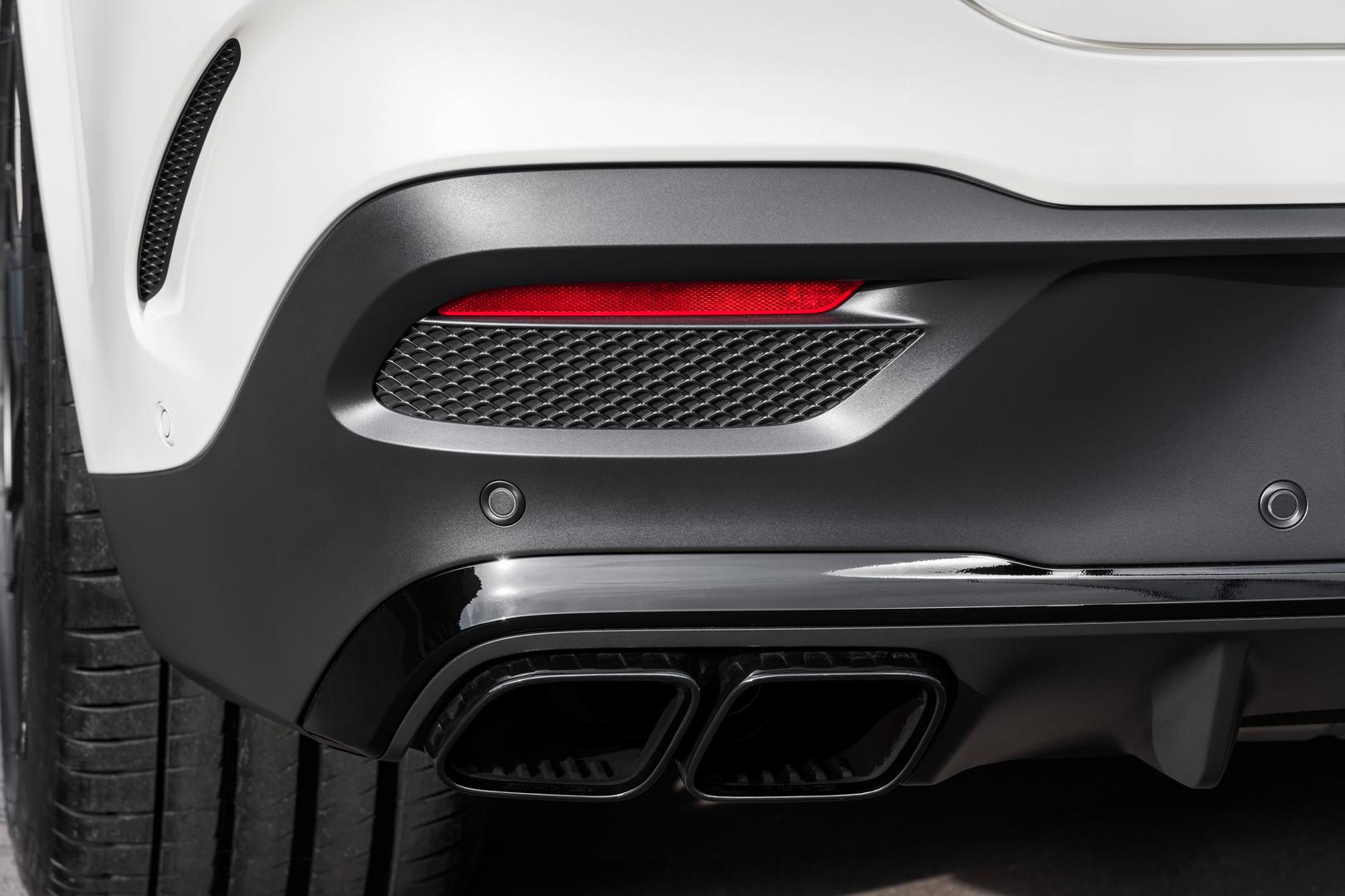Mercedes-AMG GLE 63 S Coupe Exhaust Pipes