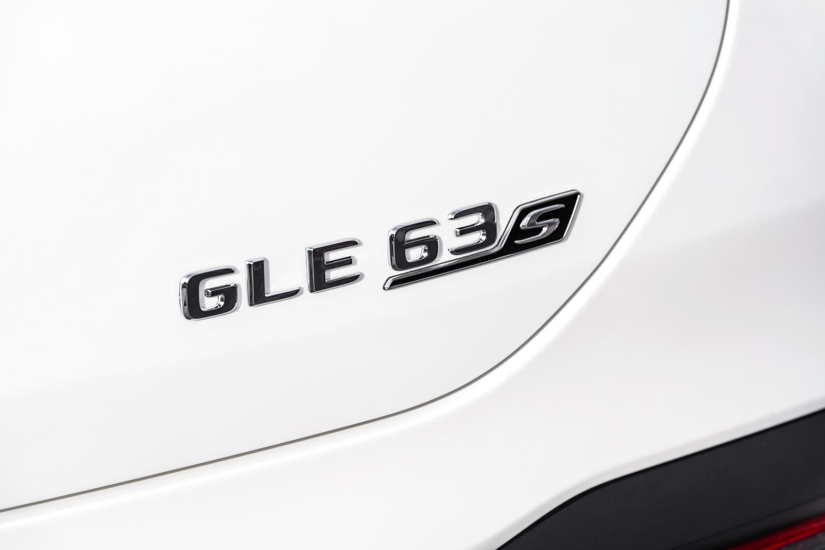 GLE 63 S Badge