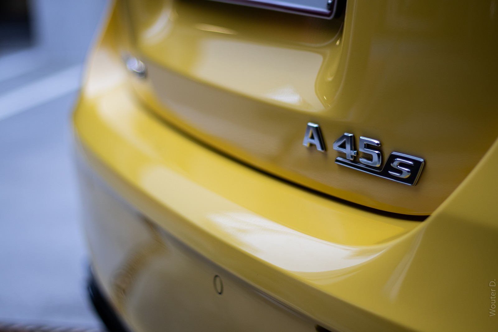 A45 S Badge