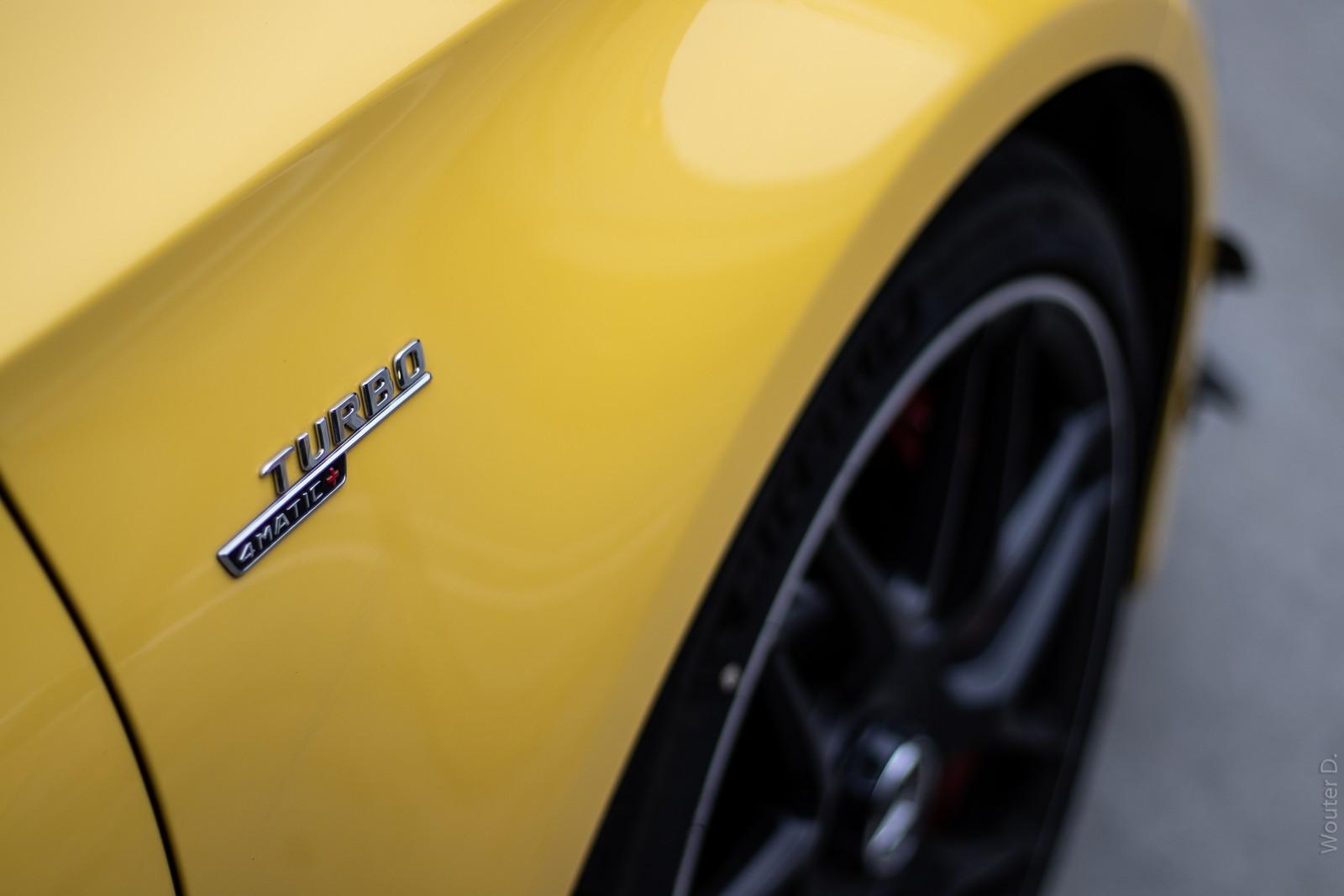 AMG Turbo Badge