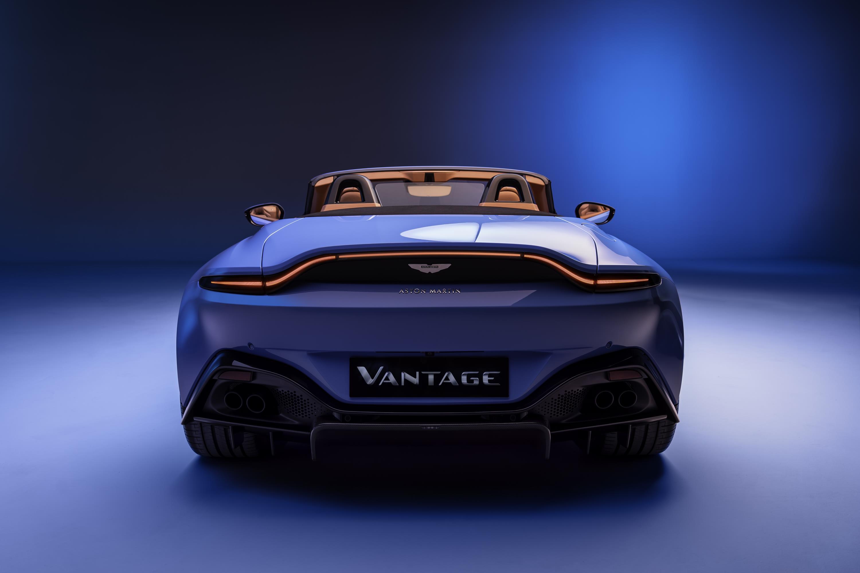 Aston Martin Vantage Roadster Rear