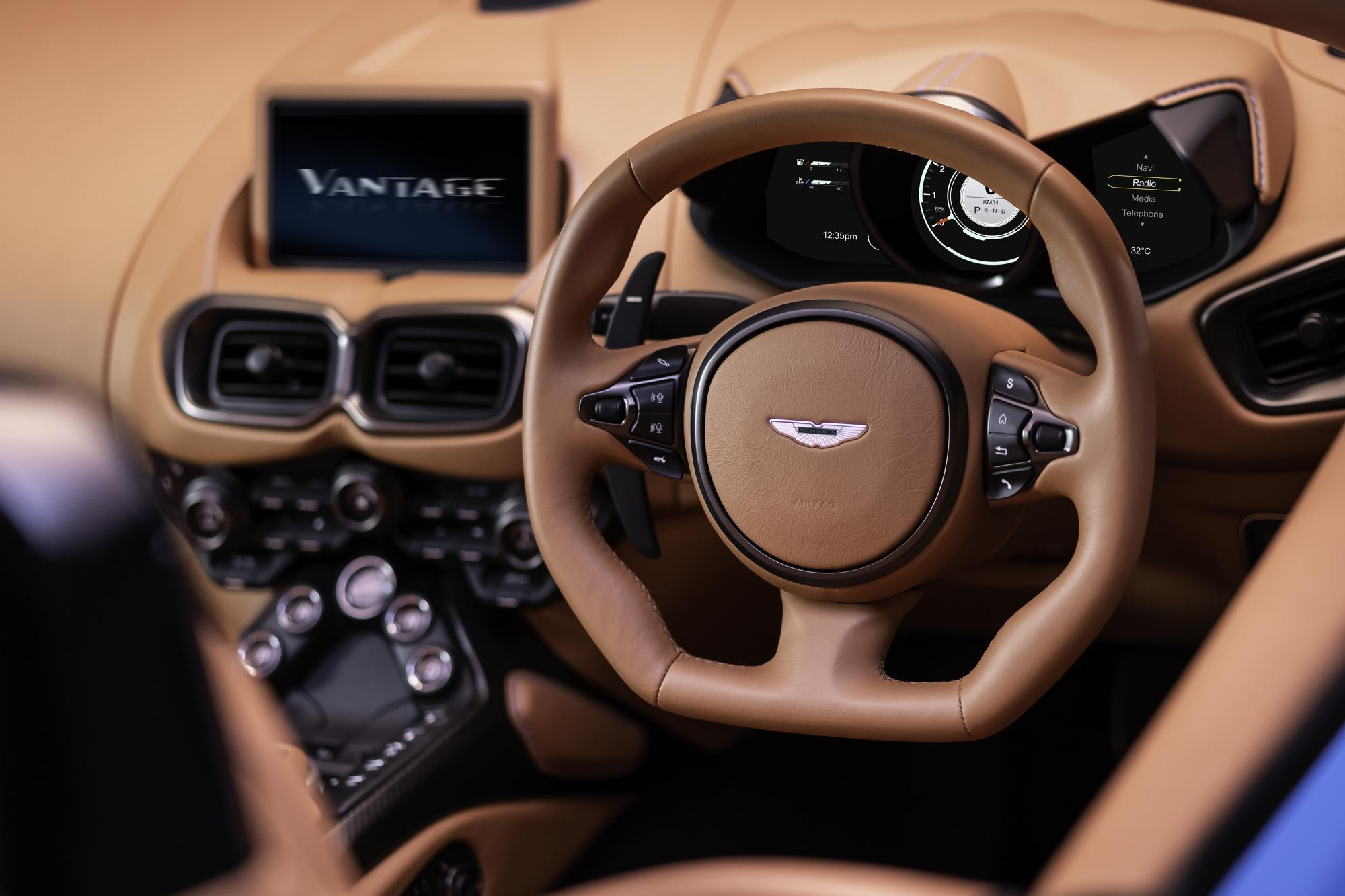Aston Martin Vantage Roadster Steering Wheel