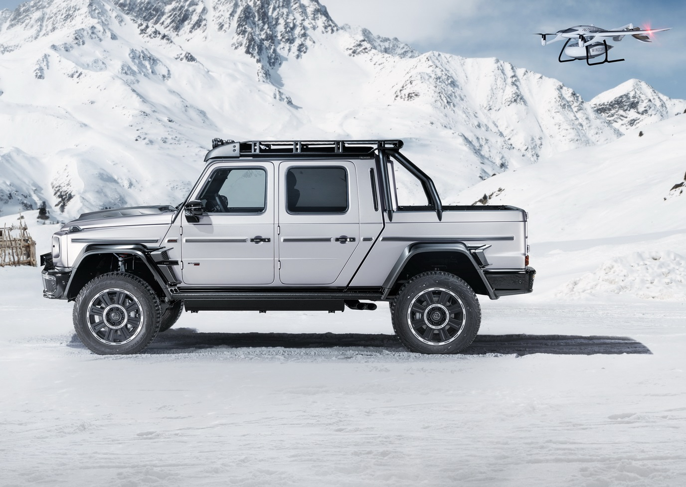 Brabus 800 Adventure XLP Side