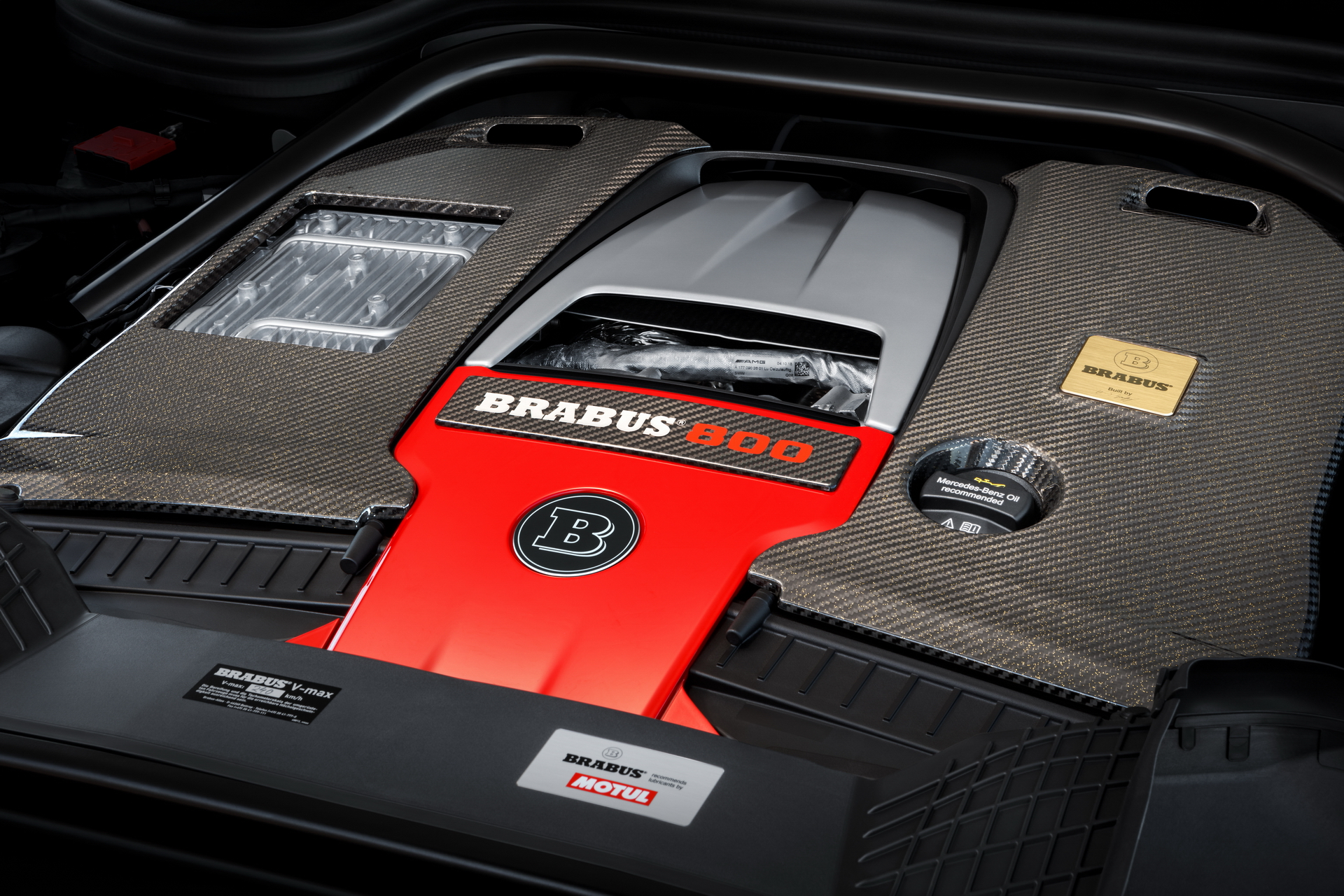 Brabus Engine Cover